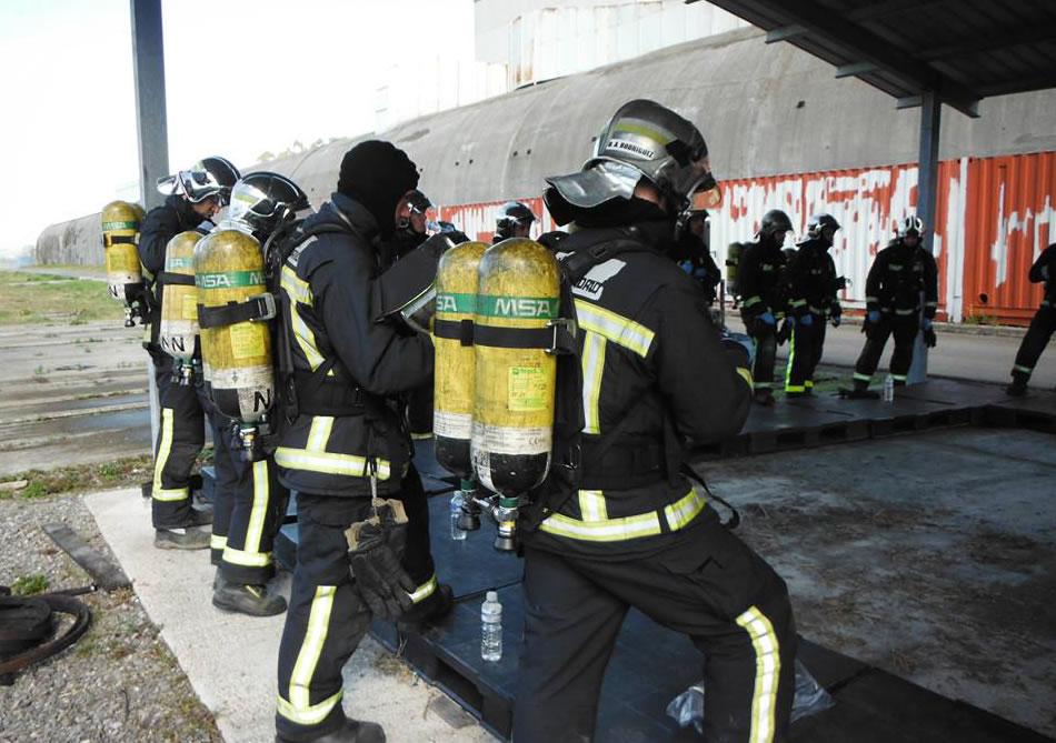 La Comunidad de Madrid forma a sus bomberos en TST