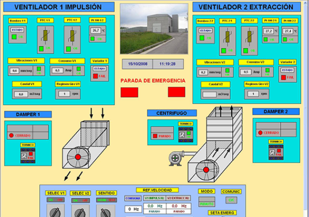 Data acquisition and control system