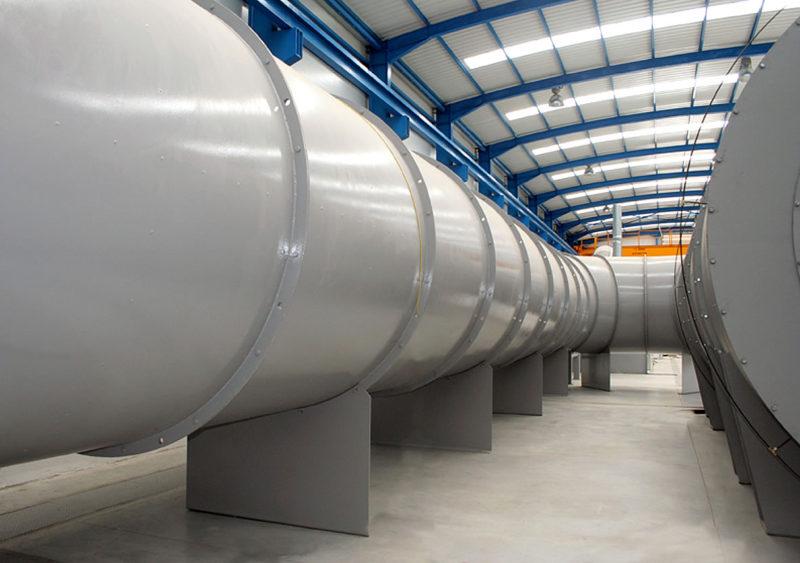 Laboratorio acreditado de ensayos de ventiladores a alta temperatura